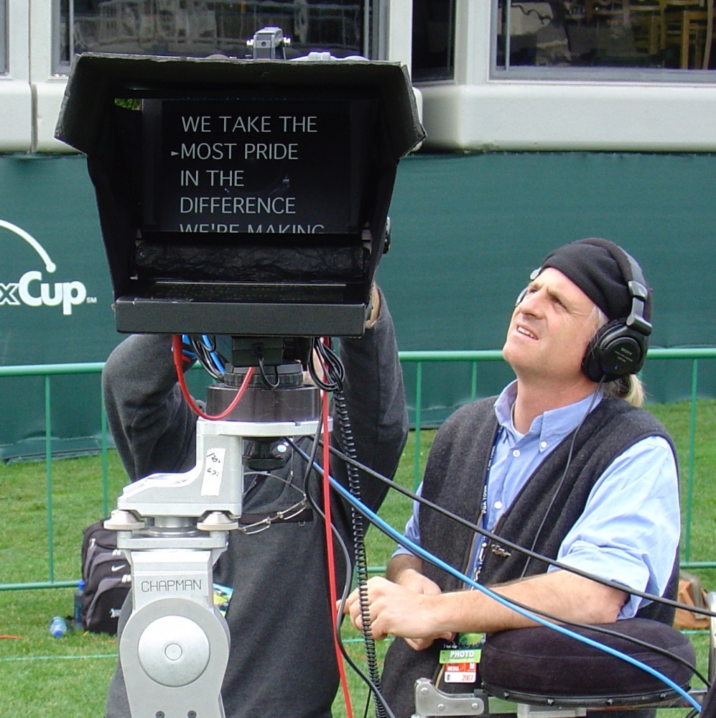Outdoor teleprompters feature high brightness displays