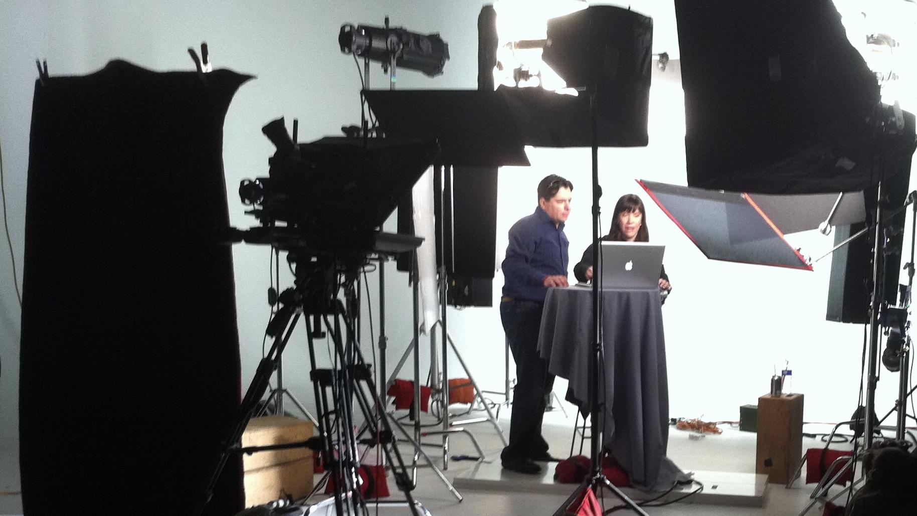 Studio Prompter Talking Head